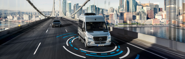 Mercedes-Benz Vans - Safety Comes Standard